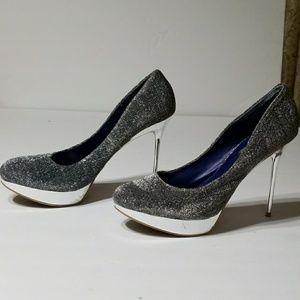 Stunning Silver Shoe